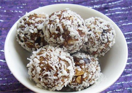 chokladbollar dadlar mandel
