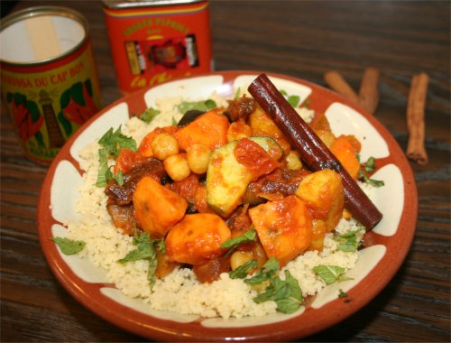 vegetarisk gryta ris