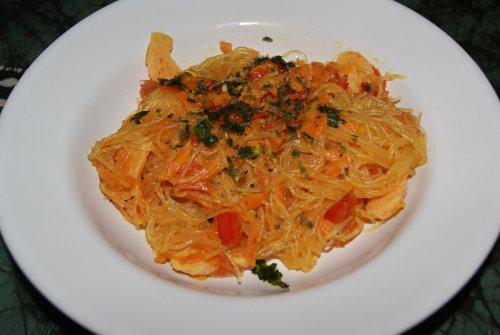 vegetarisk pastasås morötter