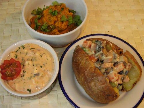 potatis i ugn med grönsaker